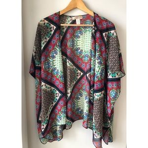Band of Gypsies, Bohemian Patchwork Kimono